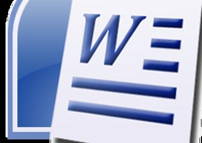 Microsoft WORD Intermédiaire 2